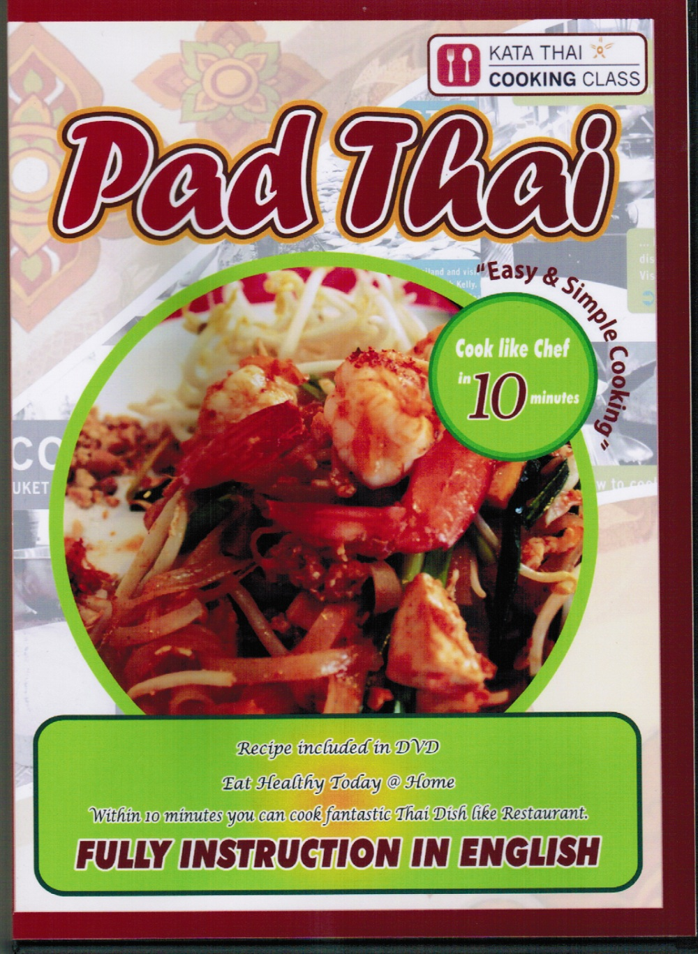 Newscooking dvd kata thai cooking class phuket how to cook pad thai forumfinder Choice Image