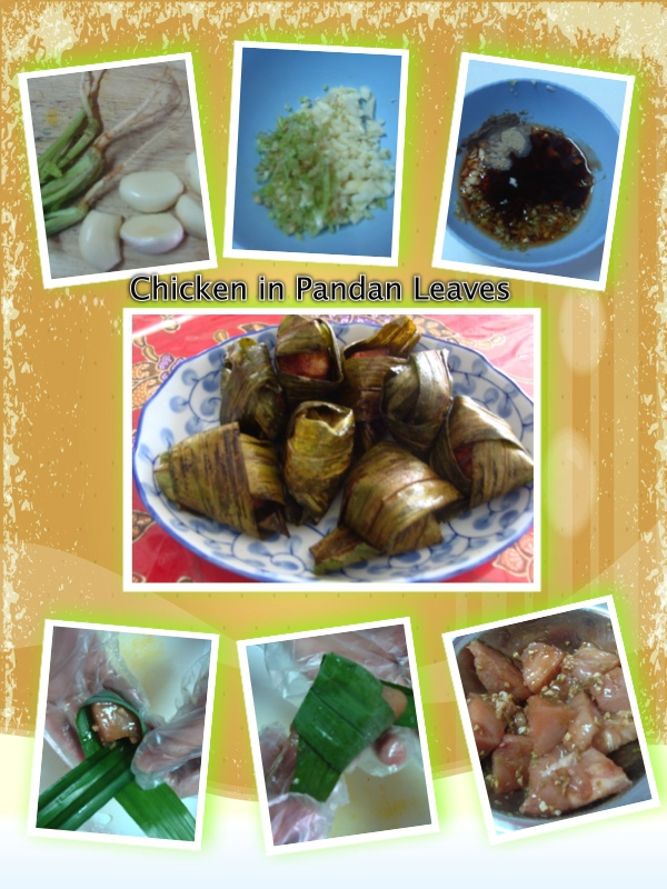 Chicken in Pandan
