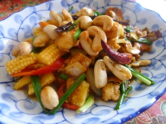 cashew nut with chicken